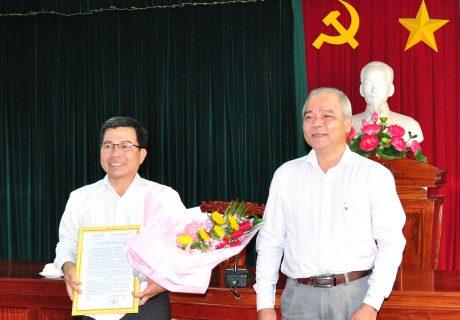 Bổ nhiệm Chủ tịch Hội đồng thành viên Cao su Dầu Tiếng